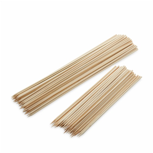 Allrecipes Bamboo Skewers - Natural Perspective: front