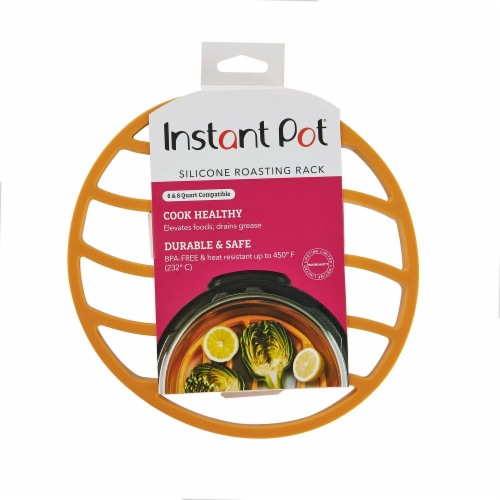 Instant Pot® Silicone Roasting Rack - Orange Perspective: front