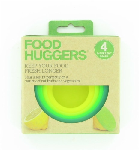 HOAN Food Huggers Fresh Box 4 Pack - Green Perspective: front
