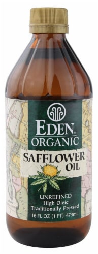 Eden Organic Safflower Oil Perspective: front