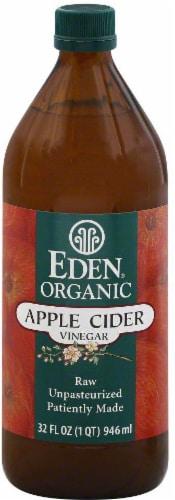Eden Organic Apple Cider Vinegar Perspective: front