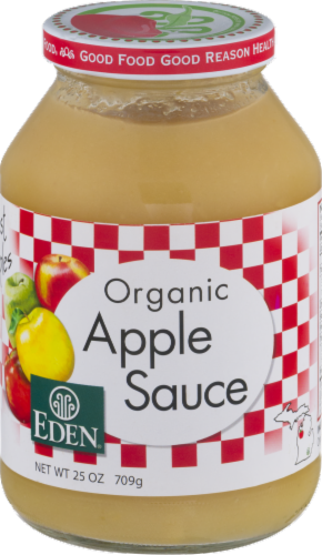 Eden Organic Apple Sauce Perspective: front