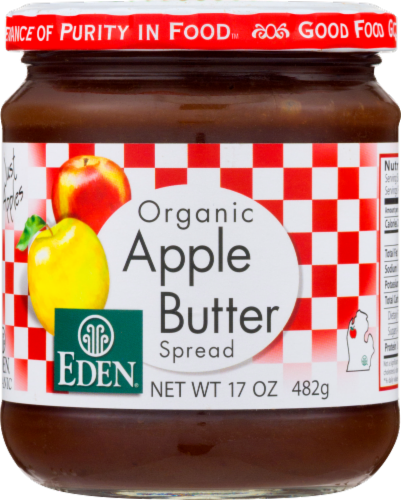 Eden Organic Apple Butter Spread Perspective: front