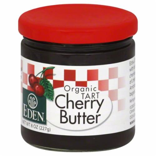 Eden Organic Tart Cherry Butter Perspective: front