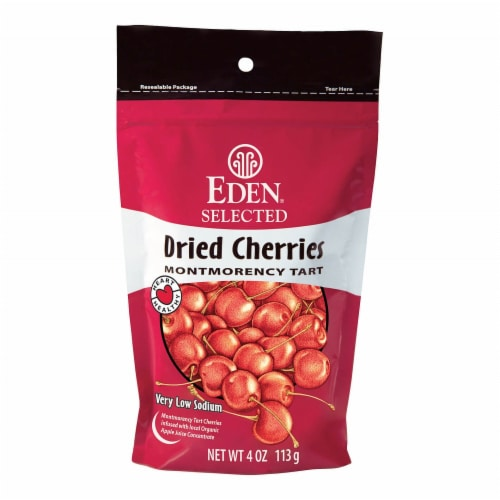 Eden Dried Montmorency Cherries Perspective: front