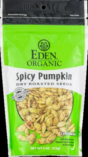 Eden Organic Spicy Pumpkin Seeds Perspective: front