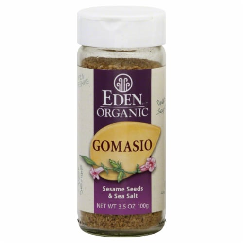 Eden Foods  Organic Gomasio Sesame Seeds and Sea Salt Perspective: front
