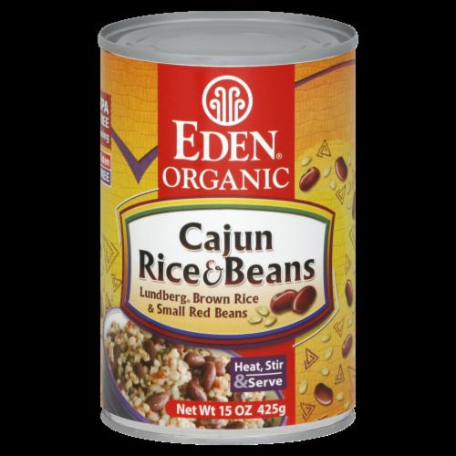 Eden Organic Cajun Rice & Beans Perspective: front