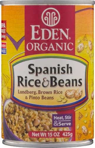 Eden Organic Spanish Rice & Beans Perspective: front