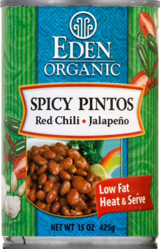 Eden Organic Spicy Pintos Perspective: front