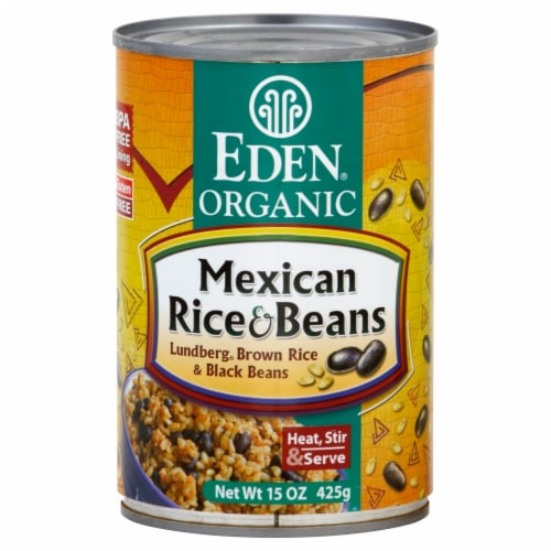 Eden Organic Mexican Rice & Beans Perspective: front