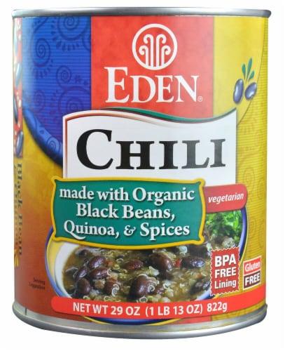Eden Vegetarian Black Bean & Quinoa Chili Perspective: front