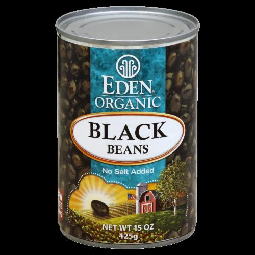 Eden Organic Black Beans Perspective: front