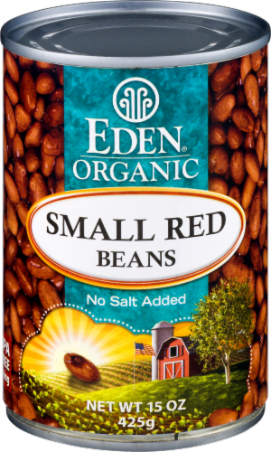 Eden Organic Small Red Beans Perspective: front