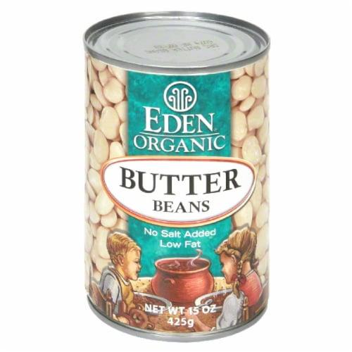 Eden Organic Butter Beans Perspective: front