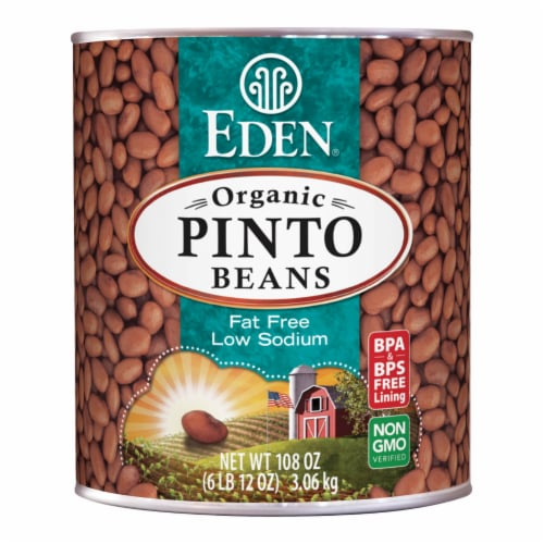 Eden Organic Pinto Beans Perspective: front