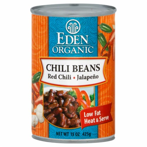 Eden Organic Chili Beans Perspective: front