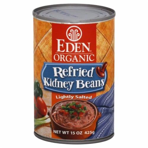 Eden Organic Refried Kidney Beans Perspective: front