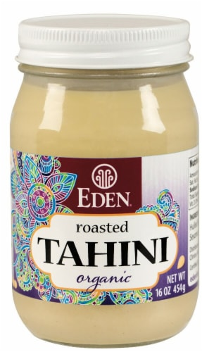 Eden Foods  Organic Tahini Roasted Perspective: front