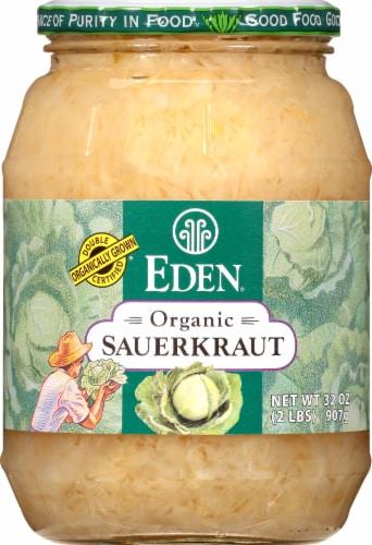 Eden Foods Organic Sauerkraut Perspective: front