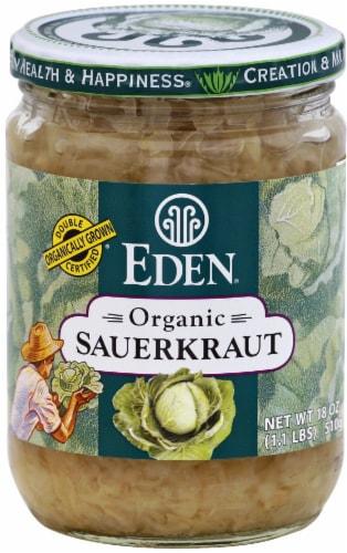 Eden Organic Sauerkraut Perspective: front
