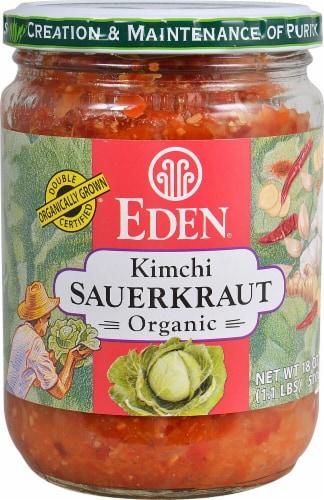Eden Organic Kimchi Sauerkraut Perspective: front