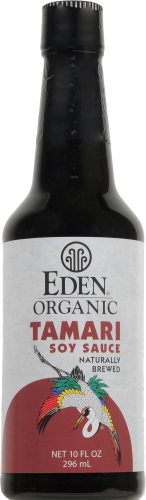 Eden Organic Tamari Soy Sauce Perspective: front
