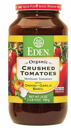 Eden Organic Crushed Tomatoes Perspective: front