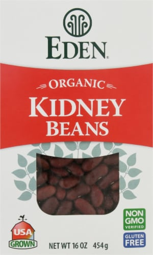 Eden Organic Dried Kidney Beans Perspective: front