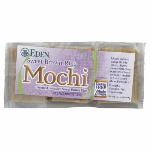Eden Organic Sweet Brown Mochi Rice Perspective: front