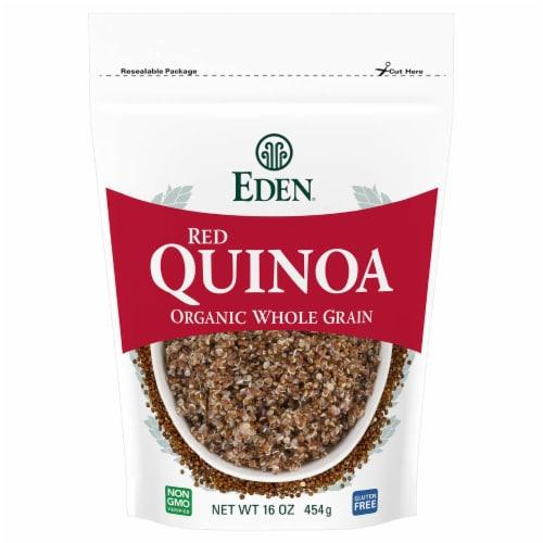 Eden Foods Organic Red Quinoa Perspective: front