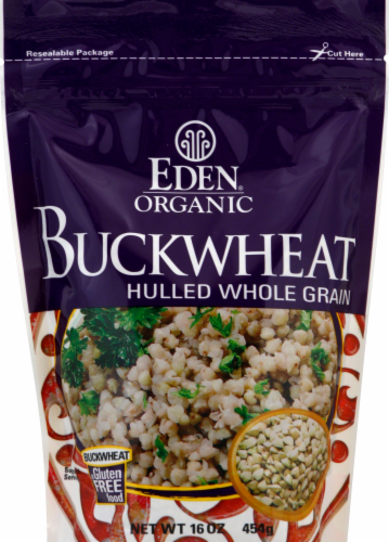 Eden Organic Buckwheat Hulled Whole Grain Perspective: front