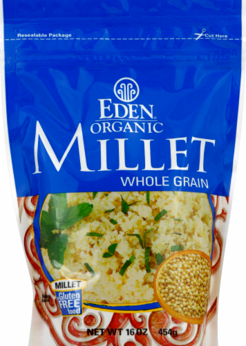 Eden Organic Whole Grain Millet Perspective: front