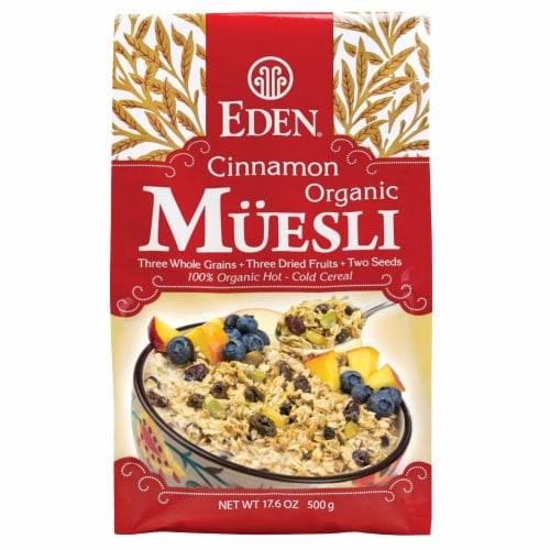 Eden Organic Cinnamon Muesli Perspective: front
