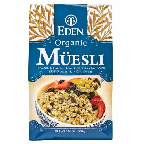 Eden Foods Organic Unflavored Muesli Perspective: front