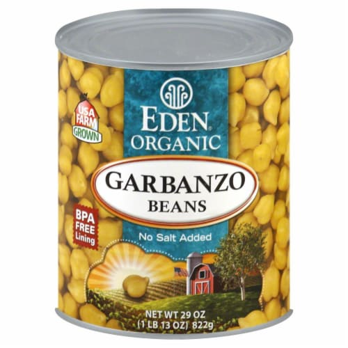 Eden Organic Garbanzo Beans Perspective: front