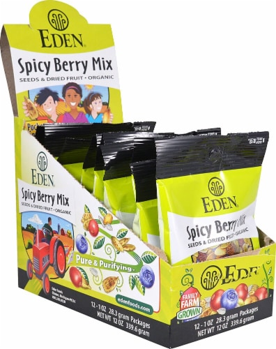 Eden Spicy Berry Mix Perspective: front