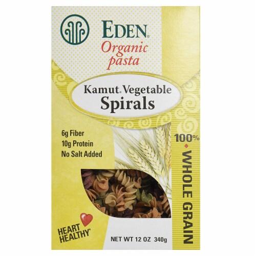 Eden Organic Kamut Vegetable Spirals Perspective: front