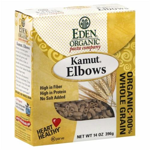 Eden Organic Kamut Elbow Pasta Perspective: front