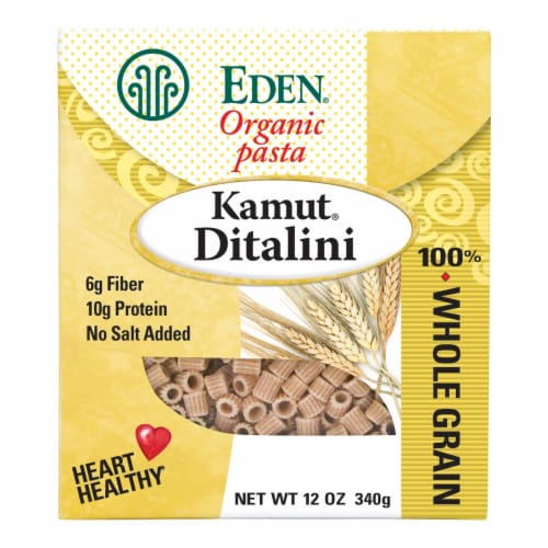 Eden Foods Organic Pasta Company Kamut Ditalini Perspective: front