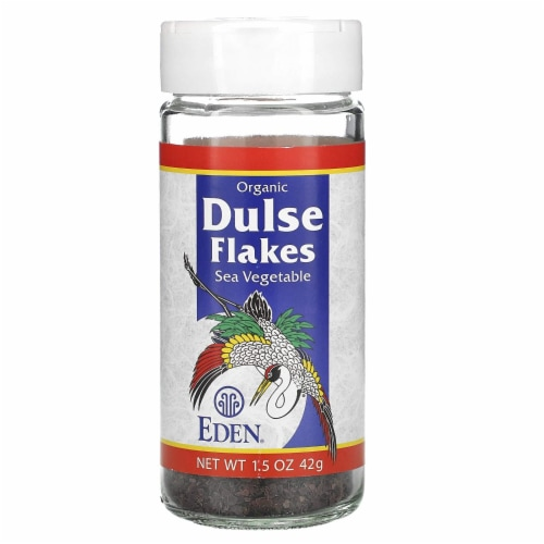 Eden Foods Organic Dulse Flakes Sea Vegetable Flakes Perspective: front
