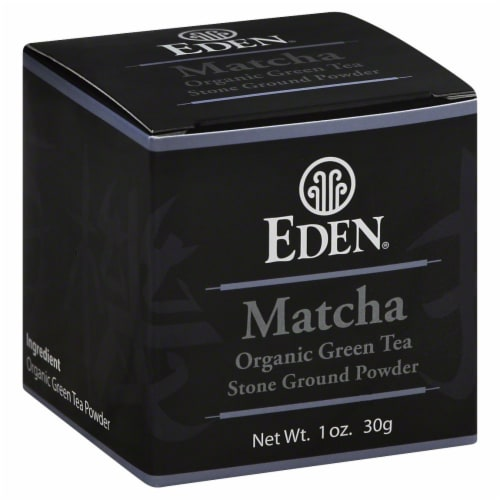 Eden Matcha Organic Green Tea Powder Perspective: front