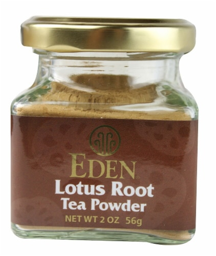 Eden Lotus Root Tea Powder Perspective: front