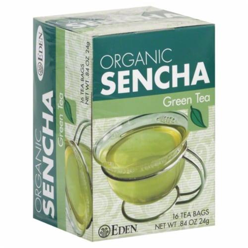 Eden Organic Sencha Green Tea Perspective: front