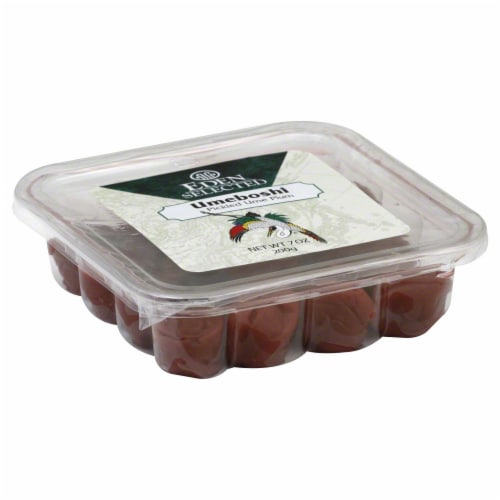 Eden Foods Selected Pickled Umeboshi Perspective: front