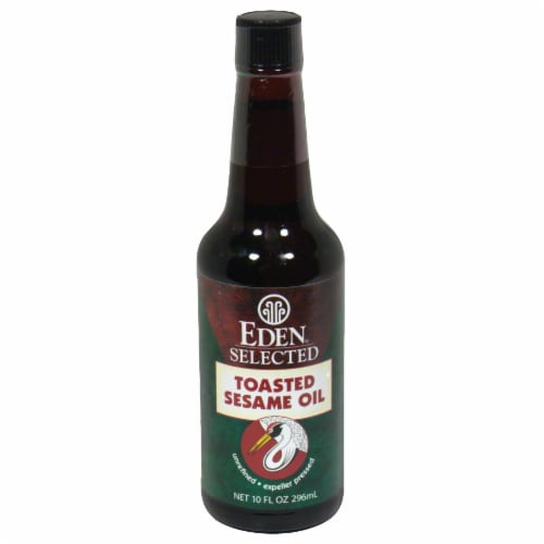 Eden Foods Selected Toasted Sesame Oil Perspective: front