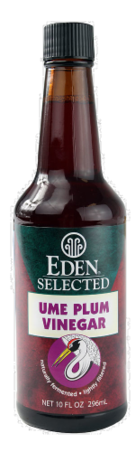 Eden Selected Ume Plum Vinegar Perspective: front