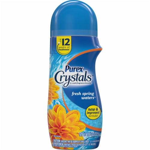 Purex Crystals Fresh Spring Waters In-Wash Fragrance Booster Perspective: front