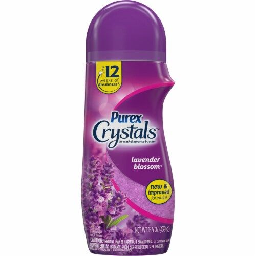 Purex Crystals Lavender Blossom In-Wash Fragrance Booster Perspective: front