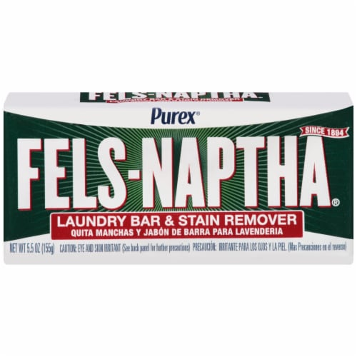 Purex Fels-Naptha Laundry Bar & Stain Remover Perspective: front